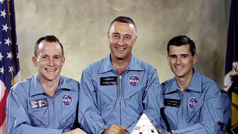 Убили, чтобы молчали: заговор о гибели трех астронавтов