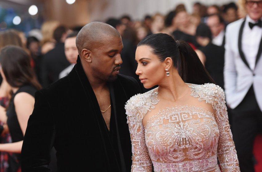 Ким Кардашьян и Канье Уэст отмечают 5 годовщину свадьбы