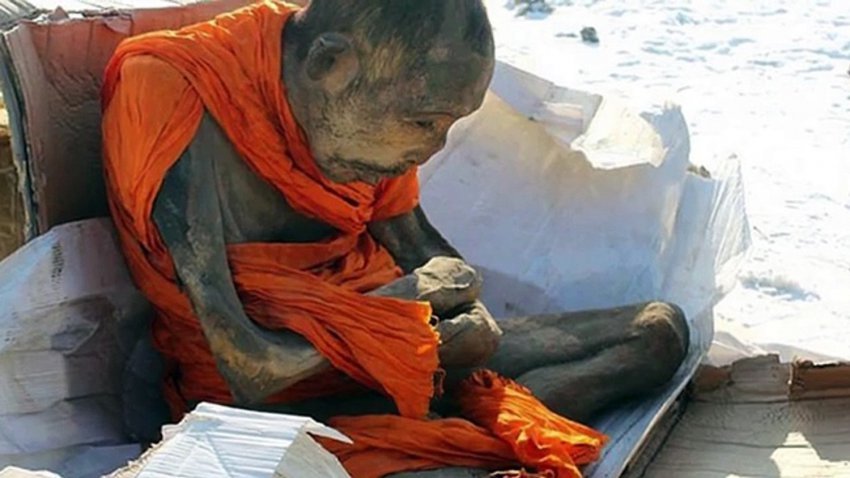 Ученые заявили, что мумия тибетского монаха живая