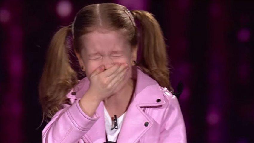 Спевшую на украинском шоу «Голос.Дети» хит Тины Тёрнер маленькую россиянку затравили в соцсетях