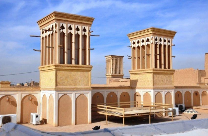 Бадгиры и малькафы – кондиционеры древних персов и египтян