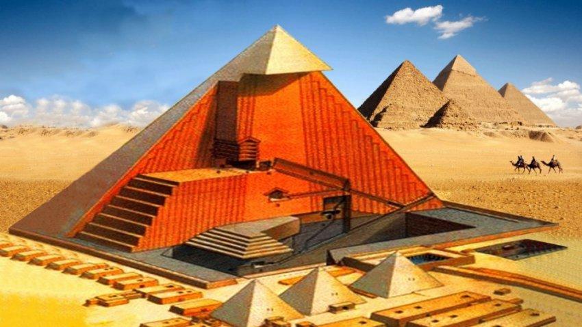 Великая Пирамида Гизы рассеивает электромагнитную энергию