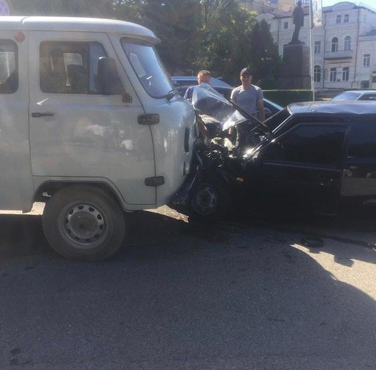Погоня в Кисловодске закончилась аварией