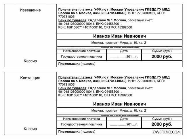 Стоимость госпошлины на развод в 2020 году в России