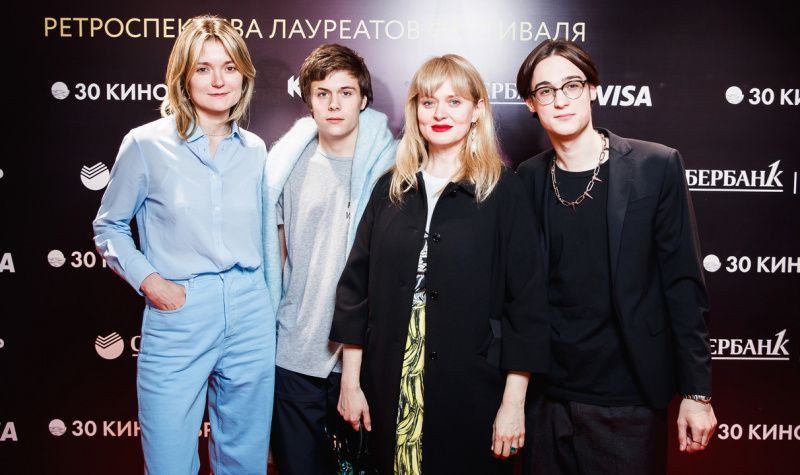 У Анны Михалковой подросли, хотя и разные по типажу, но оба красавцы сыновья