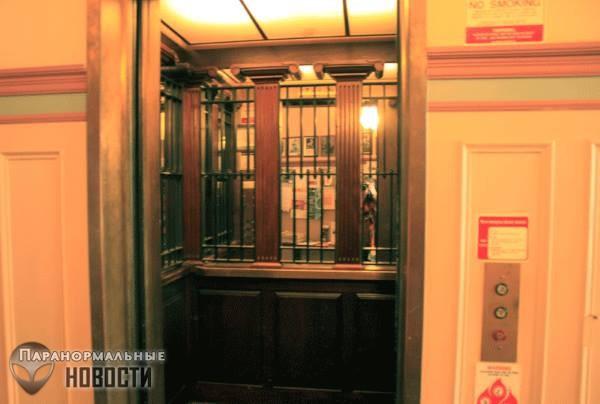 Паранормальные явления в ... лифтах