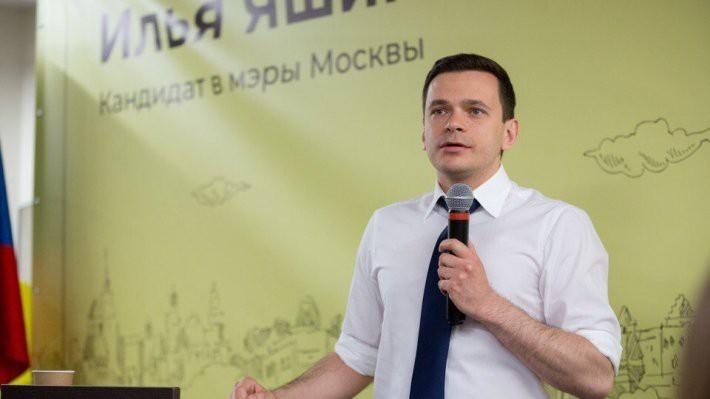 Илья Яшин обнаружил незаконный сбор подписей за его участие в выборах в Мосгордуму