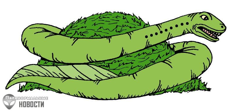 В Средние века в Англии жил чудовищный червь