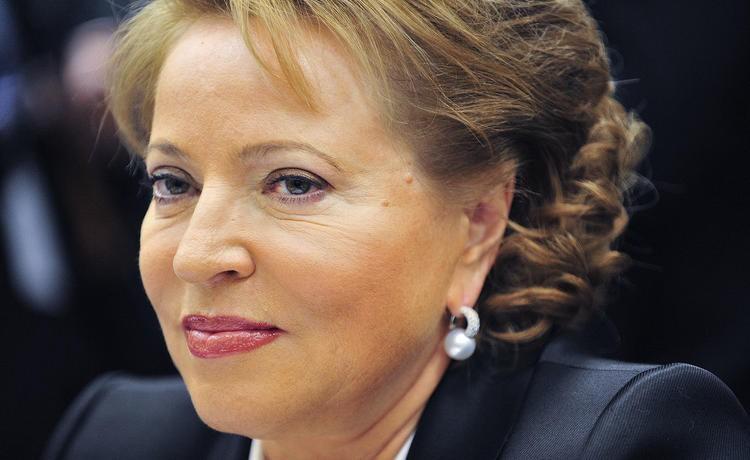 Матвиенко призвала срочно повысить зарплаты некоторым категориям граждан