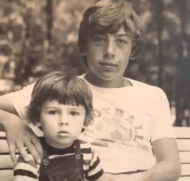 В Сети появилось архивное фото Максима Галкина в детстве