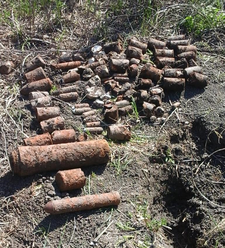 В Краснодарском крае уничтожены боеприпасы времен Великой Отечественной войны