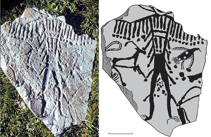 Загадка 5-тысячелетних рисунков из Сибири, изображающих странных существ