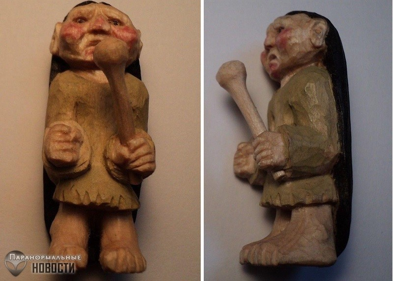 Маленькие подземные человечки из легенд индейцев Чероки