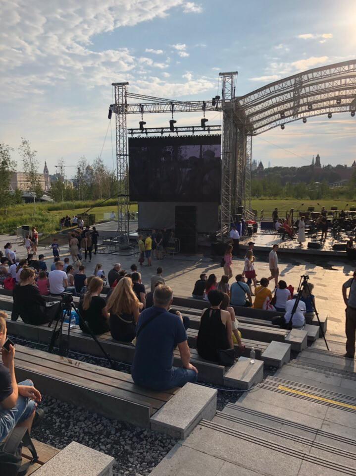 В московских парках провели День памяти и скорби