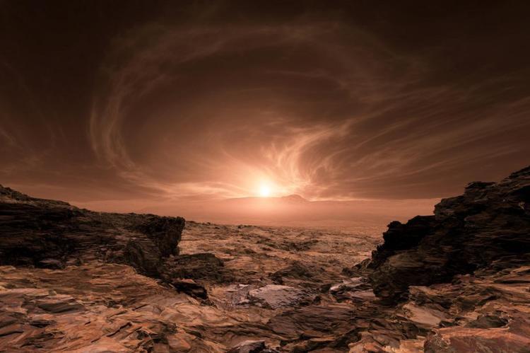 Находка на Марсе может свидетельствовать о присутствии на планете живых организмов
