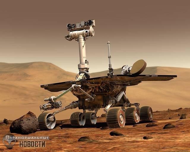 В атмосфере Марса нашли метан, а значит там вероятно есть жизнь - Паранормальные новости