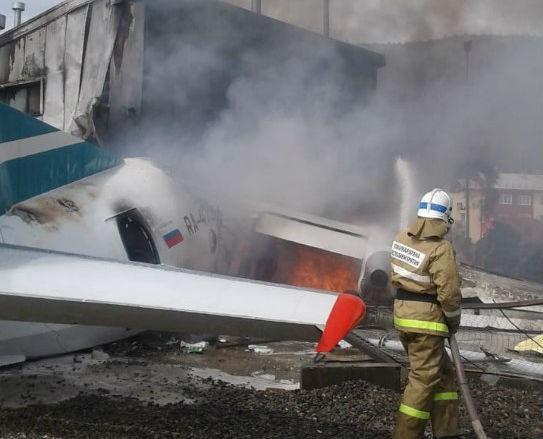 Крушение самолета в Бурятии сегодня: последние новости, фото, видео