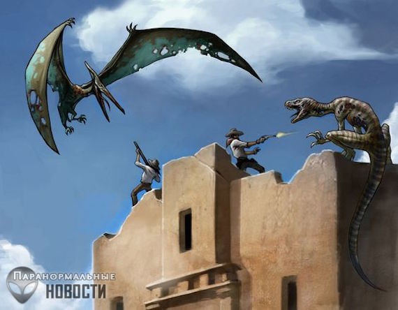 Встречи с живыми динозаврами в «зоне четырех углов» США - Паранормальные новости