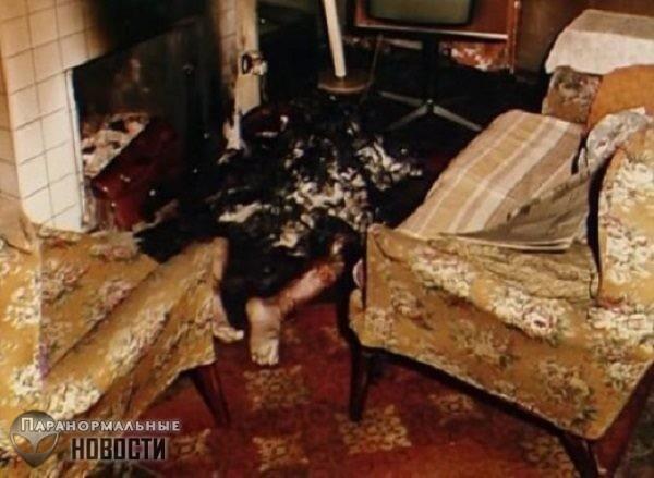 Случай самовозгорания ирландца Майкла Фаерти - Паранормальные новости