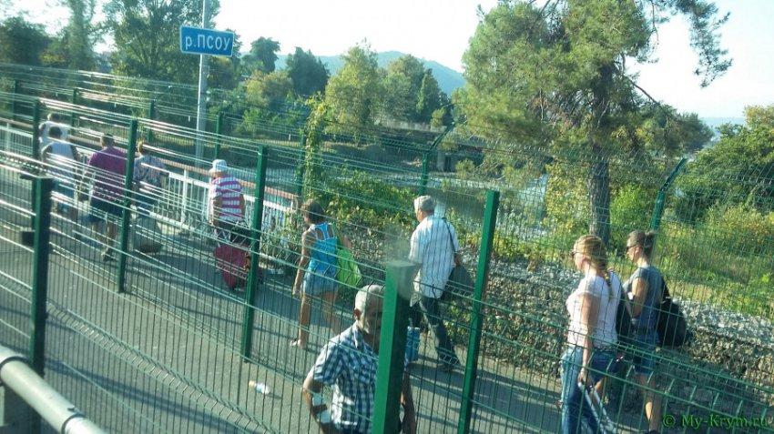 Вор с непогашенной судимостью задержан на границе с Абхазией