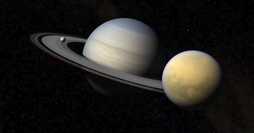 Британские ученые предлагают нагреть спутник Сатурна и поселить там людей