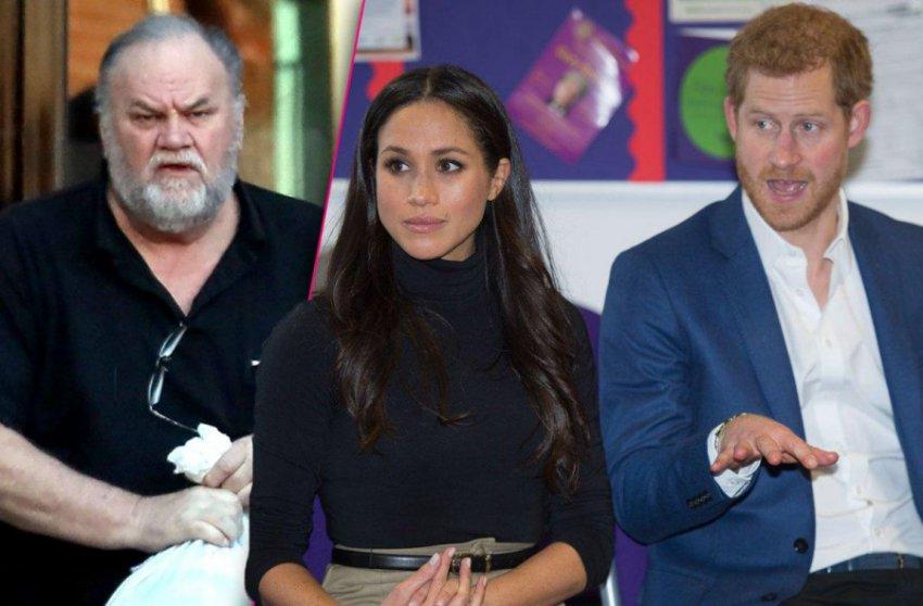 Королевская семья намерена провести тайные переговоры с проблемным отцом Меган Маркл