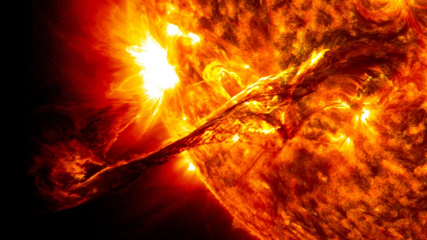 Супервспышка на Солнце уничтожит все живое на Земле