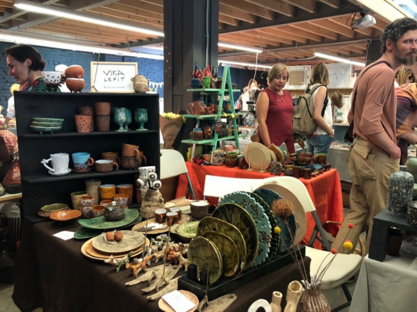 На дизайн-заводе «Флакон» прошел фестиваль самобытной керамики Local Ceramics Fest