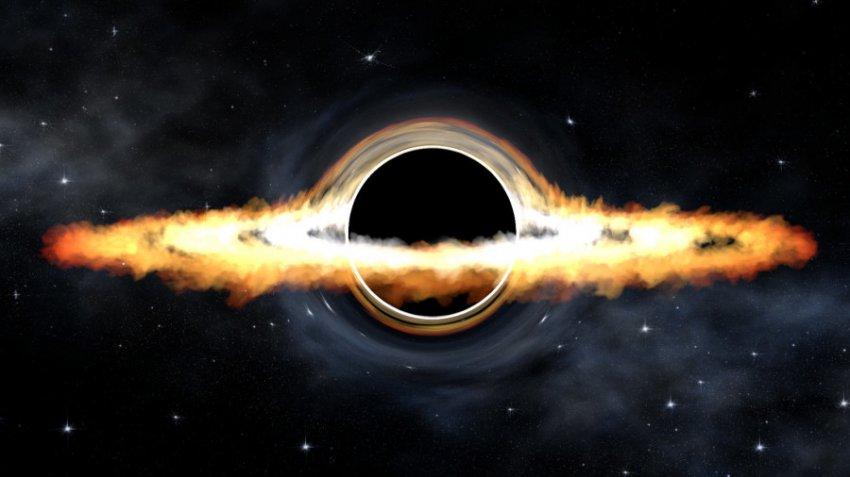 Невидимое магнитное поле «душит» сверхмассивную черную дыру в центре Млечного Пути