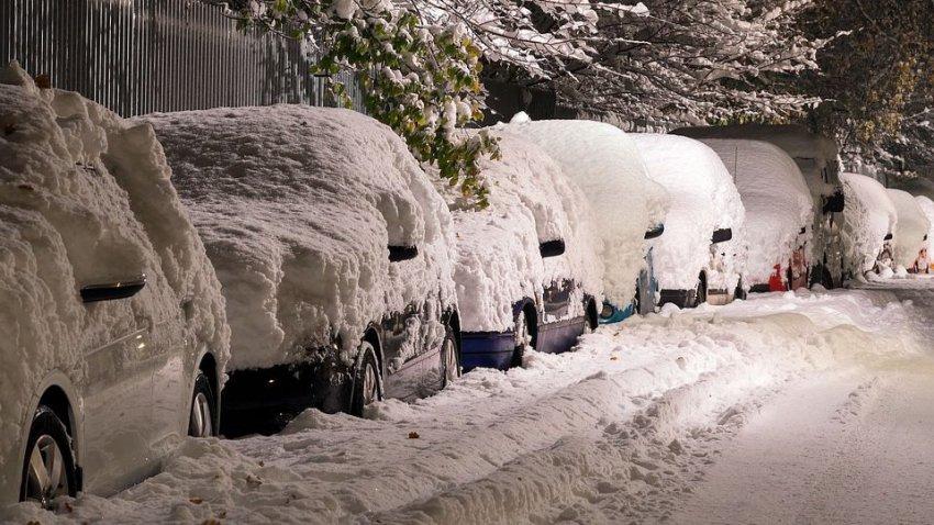 Климатические аномалии продолжаются: в США выпал снег