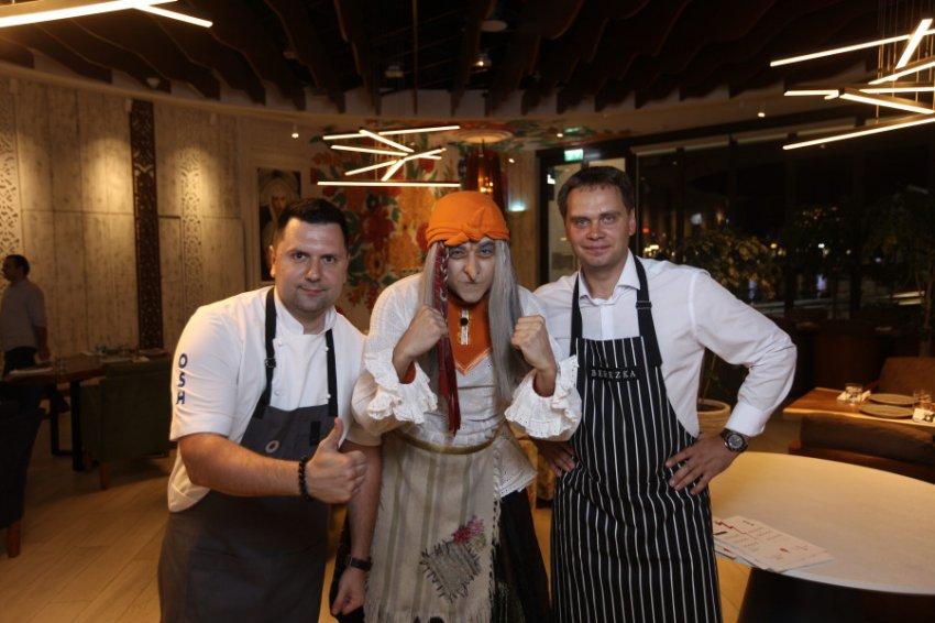 В Дубае впервые прошел баттл российских шеф-поваров