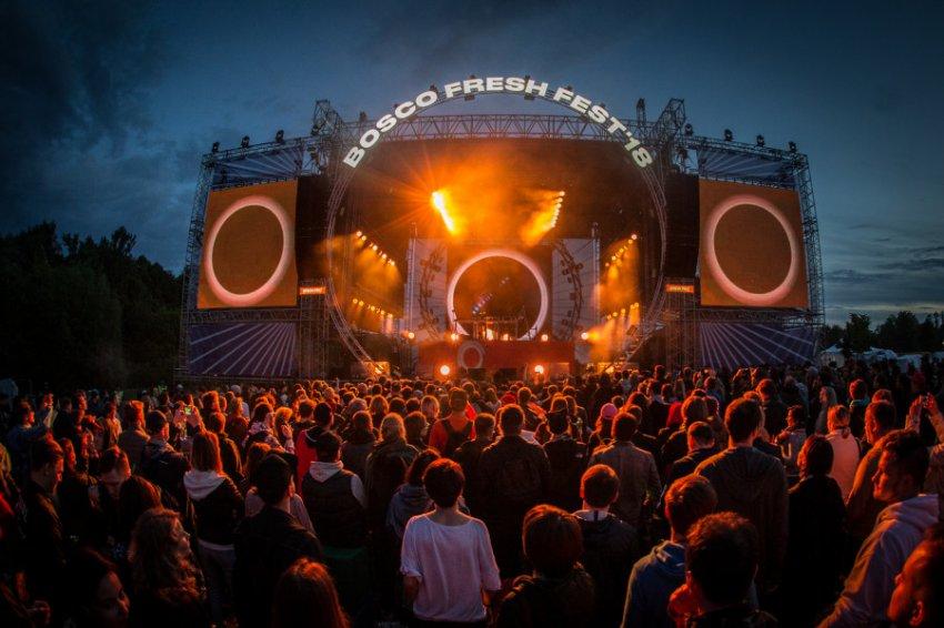 В Москве в 8-ой раз пройдет фестиваль современной музыки Bosco Fresh Fest