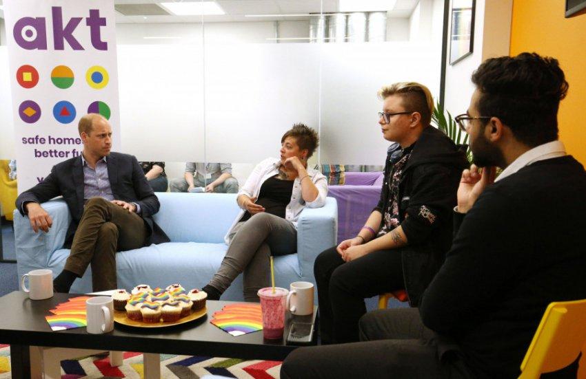 Принц Уильям посетил мероприятие ЛГБТ-сообщества