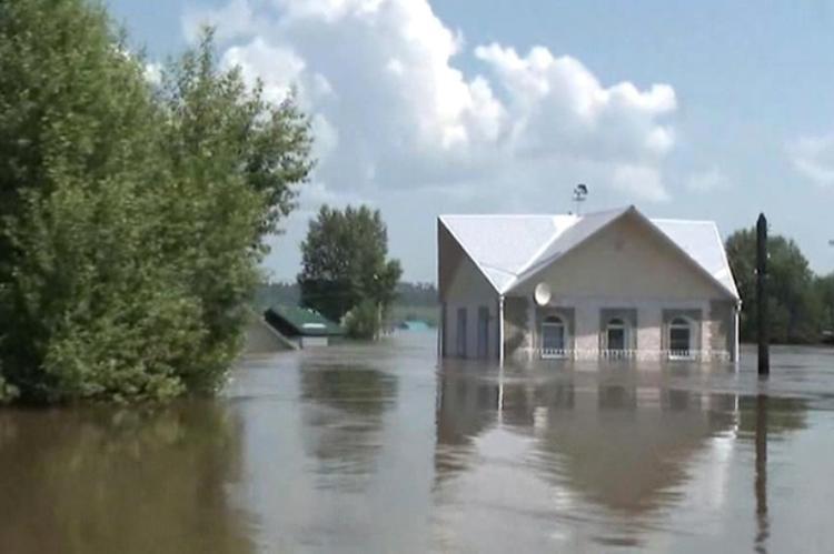 Природная аномалия привела к паводку в Иркутской области