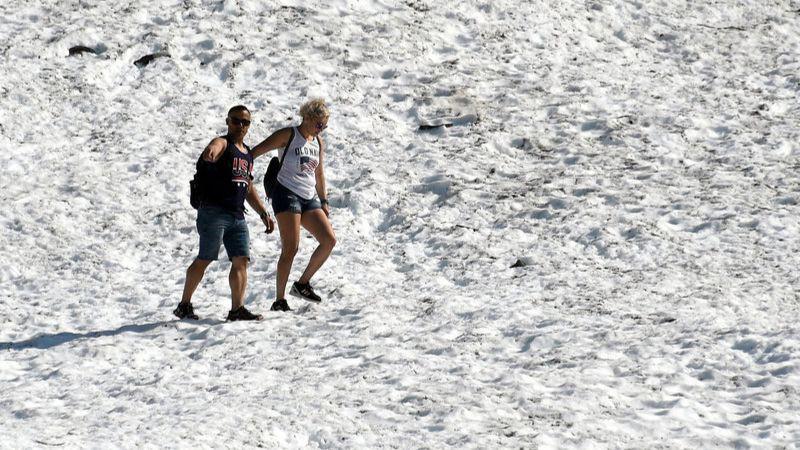 Температурная аномалия на Аляске: впервые в истории зафиксировано +32 градуса