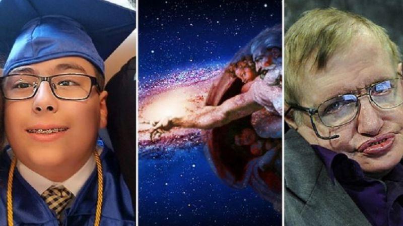 Стивен Хокинг был не прав, Бог существует: 11-летний астрофизик докажет это