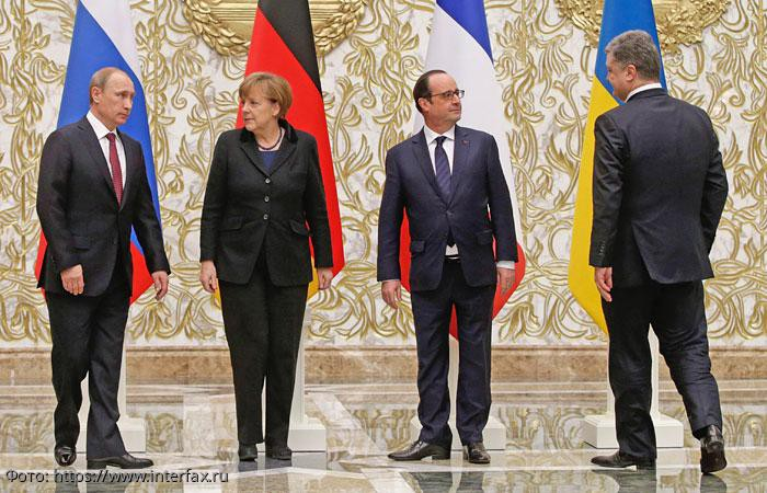 Лидер Украины выступил инициатором встречи с президентом России