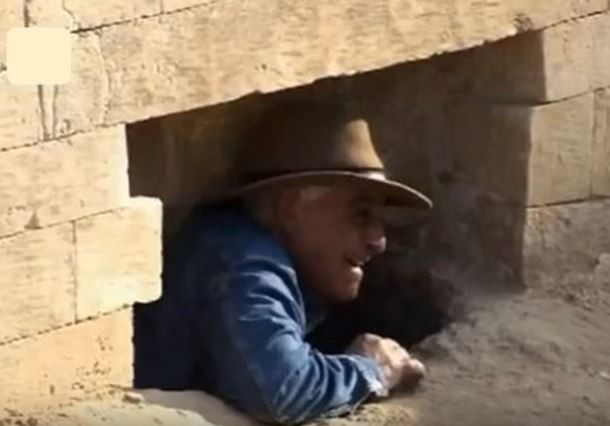 Обнаружены шесть проходов, ведущих в статую Сфинкса