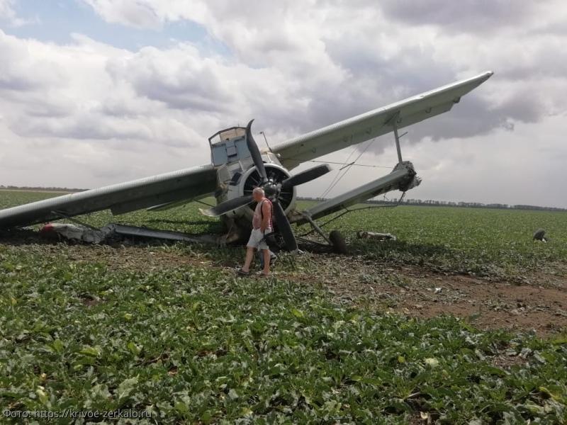На Ставрополье пилот самолета сбежал после аварийной посадки на поле