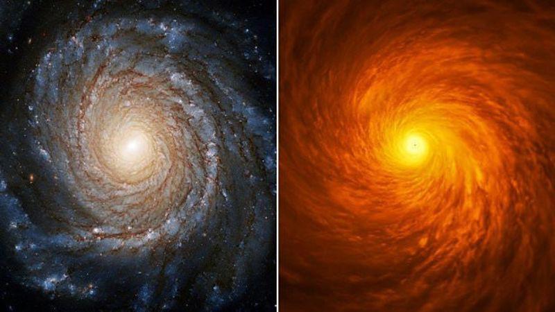 Находка телескопа Хаббл: вокруг черной дыры обнаружен загадочный диск