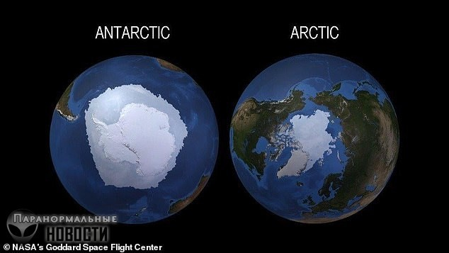 За три года Антарктида потеряла лед на площади размером с Мексику - Paranormal-news.ru