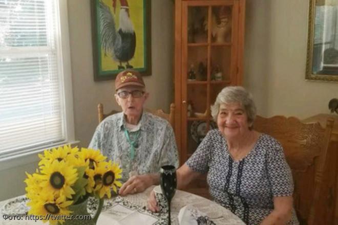 Синдром разбитого сердца: супруги, прожившие в браке 70 счастливых лет, умерли в один день