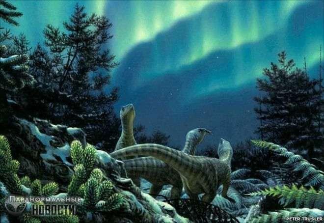 Динозавры Антарктиды | Древние животные | Паранормальные новости