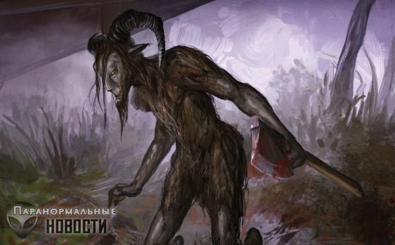 10 самых популярных американских монстров   Загадочные существа   Паранормальные новости