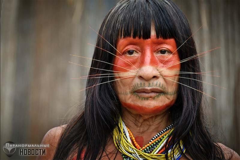 Амазонское племя, использующее телепатию | Загадки человека | Паранормальные новости