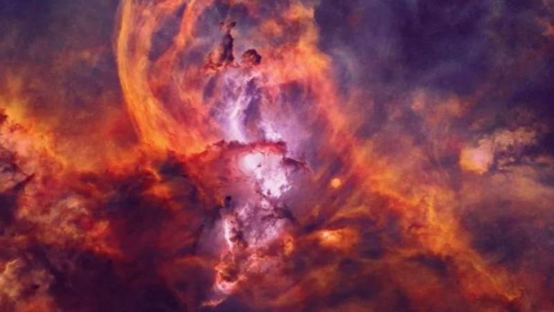 Похожа на Статую Свободы: НАСА сделало фотографию туманности NGC 3576
