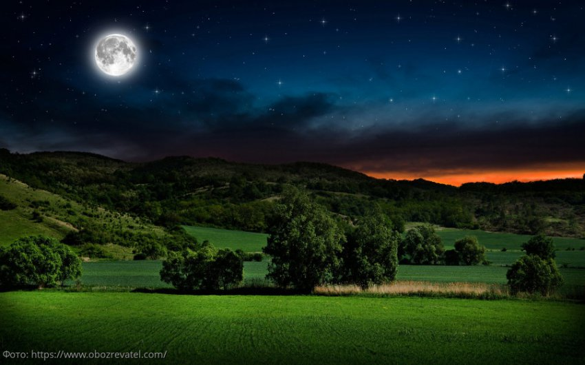Лунный календарь с 1 по 7 июля