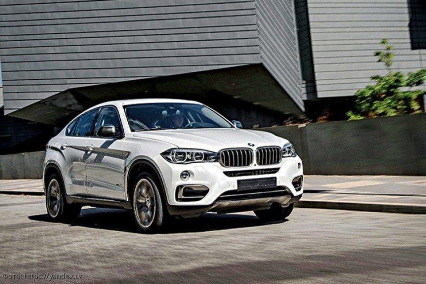 BMW презентовала 3-е поколение нового кроссовера BMW X6