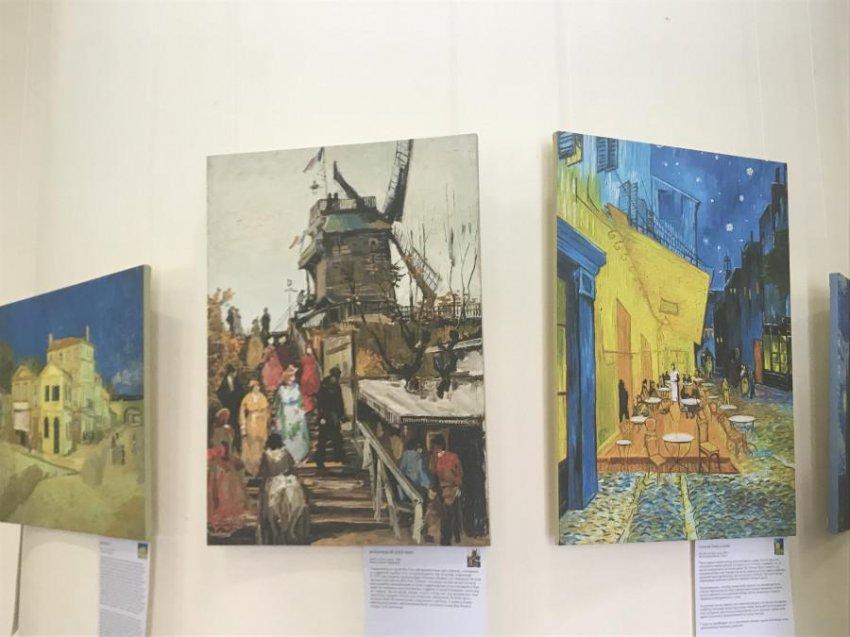 Выставка памяти Винсента Ван Гога открылась в Кисловодске