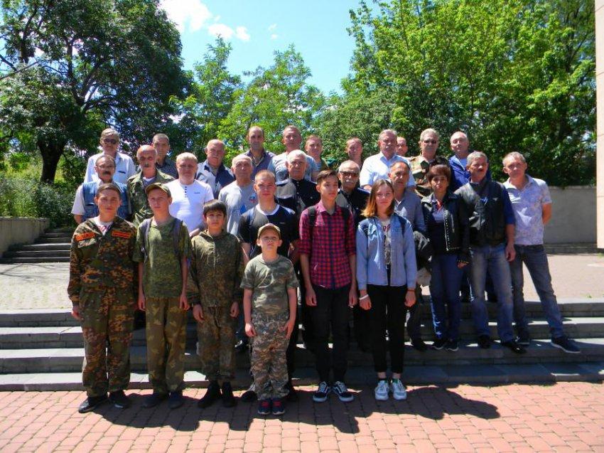В Кисловодске состоялся митинг ветеранов боевых действий